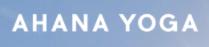 Ahana Yoga logo