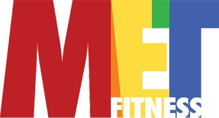 MET Fitness logo