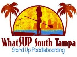 WhatSUP Paddle Sports logo