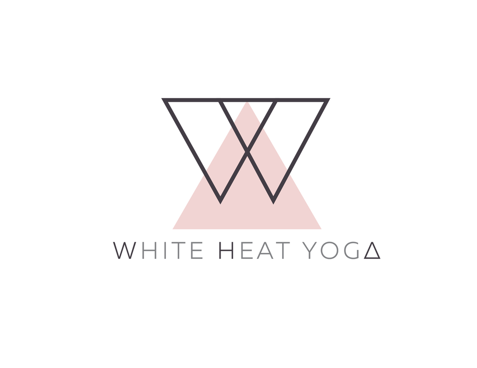 White Heat Yoga logo