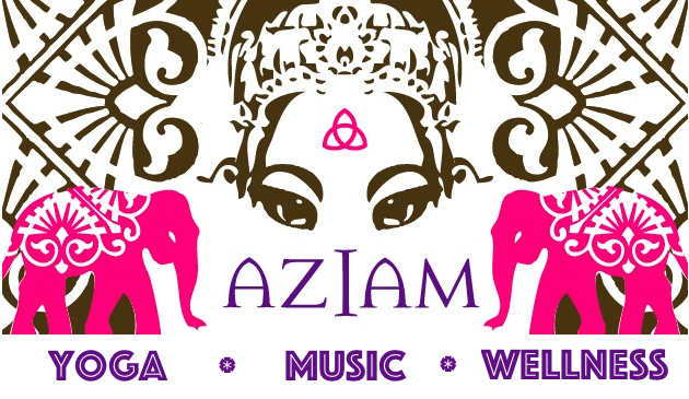 AZIAM Yoga logo