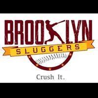 Brooklyn Sluggers Premier Sports Facility logo