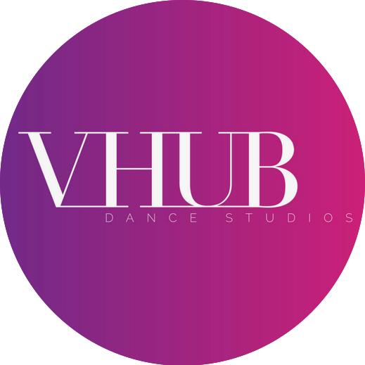 V-Hub Dance logo