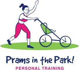 Prams in the Park logo