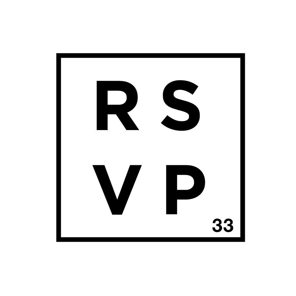 RSVP 33 logo